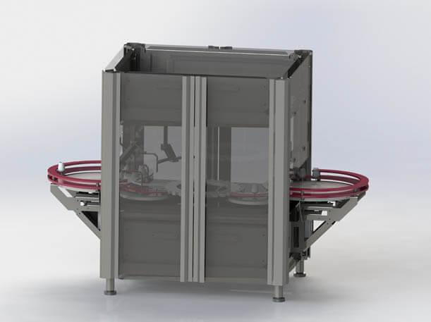 maquina embotelladora y envasadora modelo cdr pxx